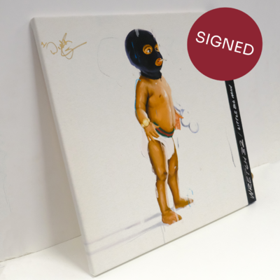 Wretch 32: Little Big Man Exclusive *SIGNED* Canvas