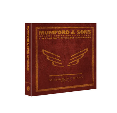 Mumford & Sons : LIVE FROM SOUTH AFRICA: DUST AND THUNDER (DELUXE EDITION BLU-RAY)