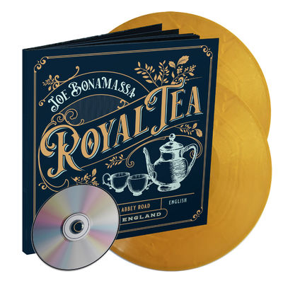 Joe Bonamassa: Royal Tea: Gold Vinyl + CD 48-page Artbook