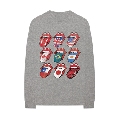 The Rolling Stones: Voodoo Tour Tongues Longsleeve