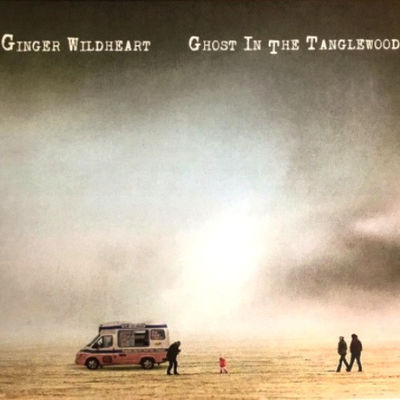 Ginger Wildheart: Ghost in The Tanglewood: Marine Vinyl + Signed Artcard