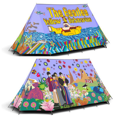 The Beatles: Yellow Submarine two person camping tent