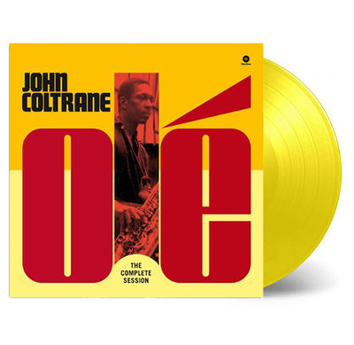 John Coltrane: Olé Coltrane The Complete Session: Limited Edition Transparent Yellow Vinyl