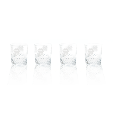 The Rolling Stones: Waterford Crystal Whisky Glasses