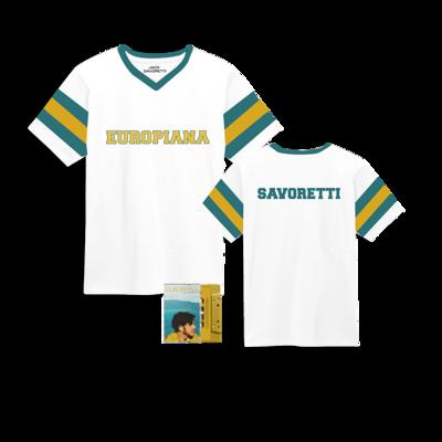 Jack Savoretti: Signed Cassette & Jersey