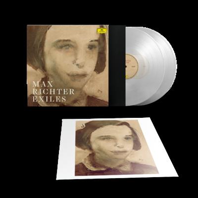 Max Richter: Exiles: Exclusive Transparent Vinyl 2LP [Numbered] + Signed Print