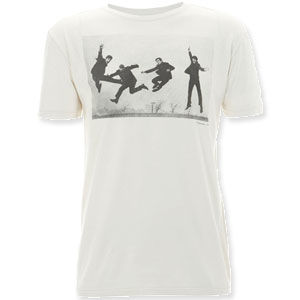 The Beatles: Jump '63 Ecru Worn By T-Shirt