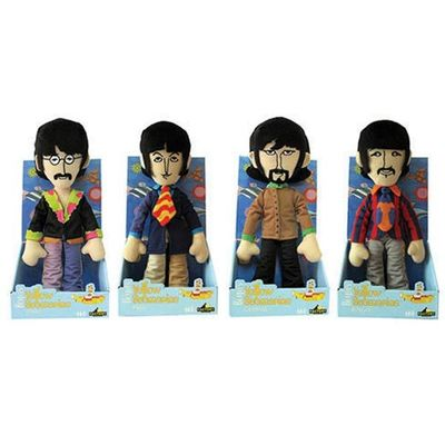 The Beatles: Beatles Plush Assortment: Set of 4 Beatles