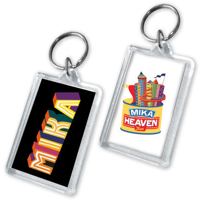MIKA: Photo and Logo Keychain