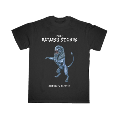 The Rolling Stones: Bridges To Babylon Black T-shirt