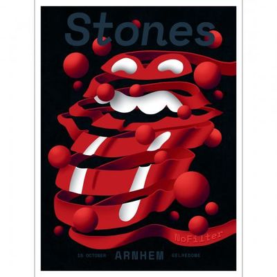 The Rolling Stones: Arnhem Print