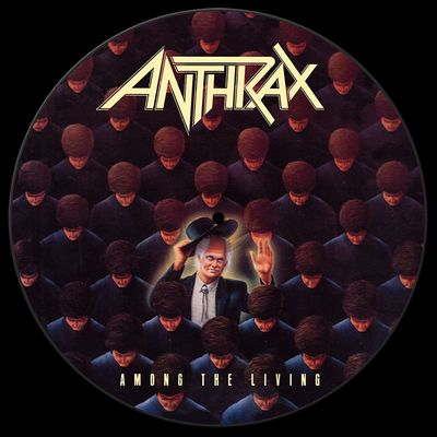 Anthrax: Among The Living - Back To Black Picture Disc