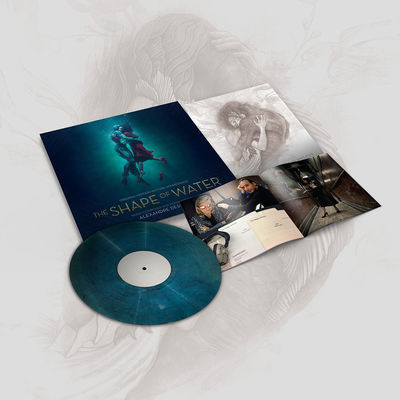Various Artists: The Shape Of Water Soundtrack & Signed Print