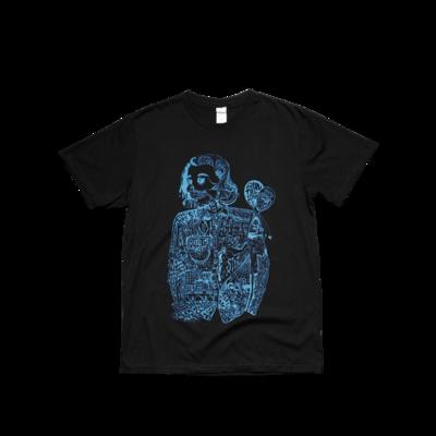 hozier: Black Blue Fan Art T Shirt