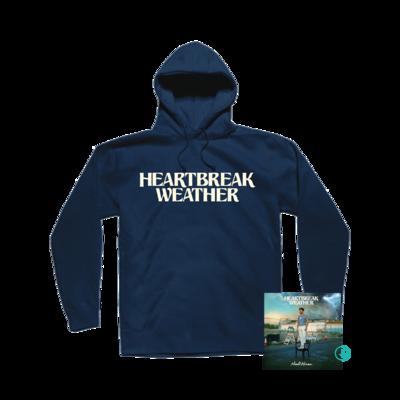 Niall Horan: Heartbreak Weather Navy Pullover Hoodie + CD