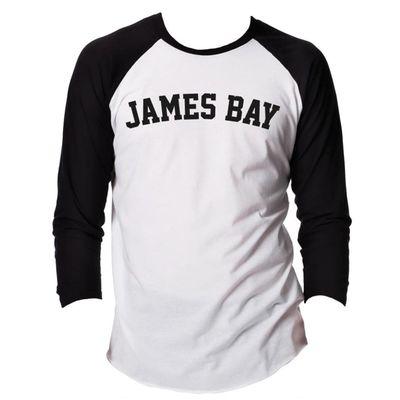 james bay: James Bay College Baseball Shirt