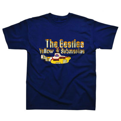 The Beatles: Yellow Submarine Anniversary Navy T-Shirt