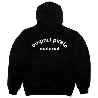 The Streets: Original Pirate Material Black Hoodie