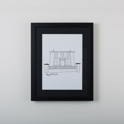 Abbey Road Studios: Abbey Road House Drawing 11
