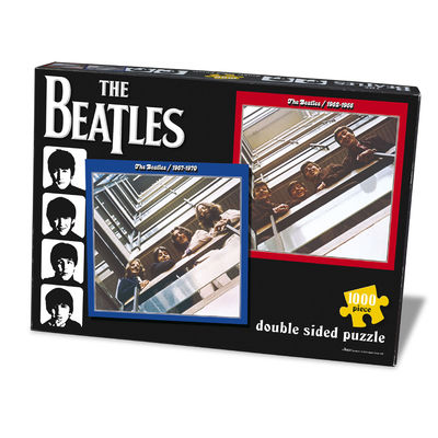 The Beatles: Red & Blue 1000pc Jigsaw puzzle