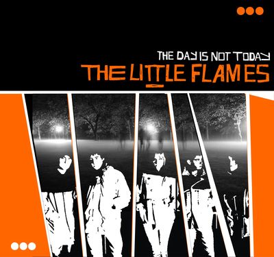 The Little Flames: The Day Is Not Today: Orange Vinyl