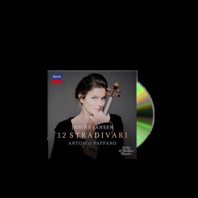 Janine Jansen : 12 Stradivari