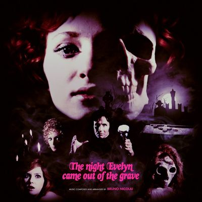 Bruno Nicolai: The Night Evelyn Came Out Of The Grave: Clear Blue + Red Vinyl