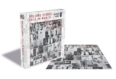 The Rolling Stones: Exile On Main Street Puzzle