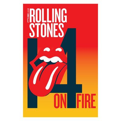 The Rolling Stones: 14 On Fire Tour Programme