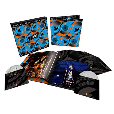 The Rolling Stones: Steel Wheels Live Special Limited Edition 6-Disc Set