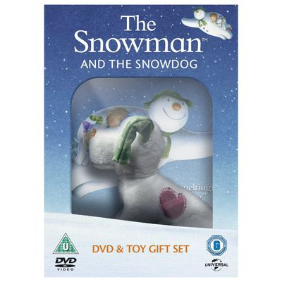 The Snowman: The Snowman and The Snowdog + Soft Toy (DVD)