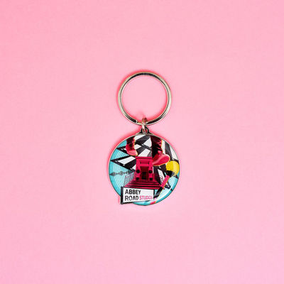 Abbey Road Studios: ARS Collage Keyring
