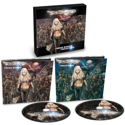 Doro: Forever Warriors, Forever United Limited Digipack + Signed Photocard