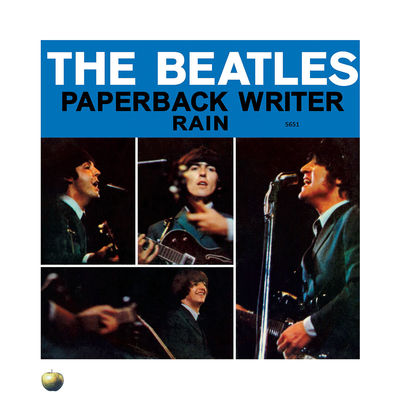 The Beatles: Paperback Writer - The Beatles' Singles Lithograph Collection