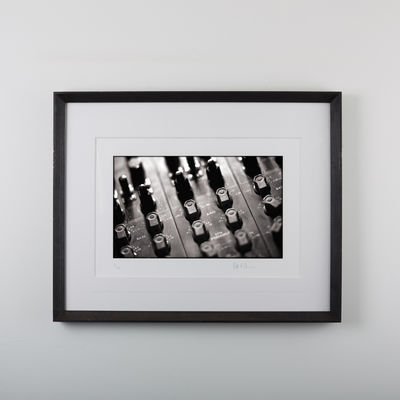 Abbey Road Studios: Framed Pete Cobbin TG Desk Print 4