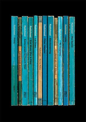 Radiohead: 'OK Computer' Album As Books Poster Print