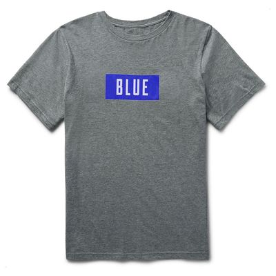 The Rolling Stones: Blue Block Text T-Shirt