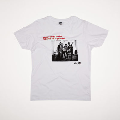 Abbey Road Studios: The Beatles Abbey Road Studios Where It All Happened T-shirt