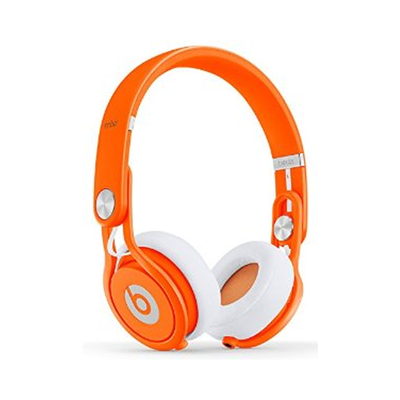 Beats: Mixr On-Ear Headphones - Neon Orange
