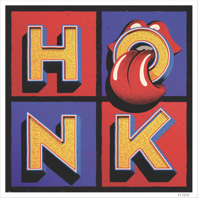 The Rolling Stones: Honk Limited Edition Numbered Lithograph