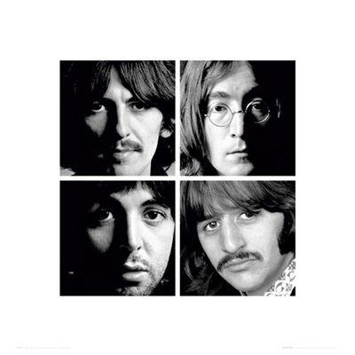 The Beatles: White Album High Quality Print 40 x 40cm