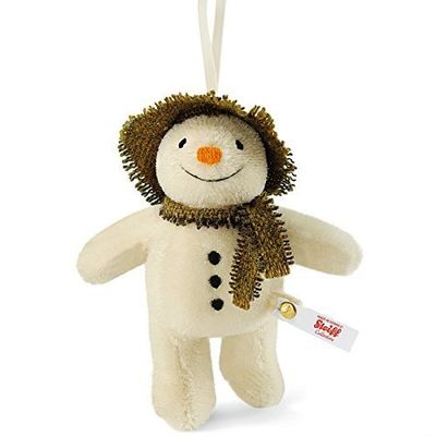 The Snowman: The Snowman Steiff Mohair Limited Edition 13cm Plush Ornament