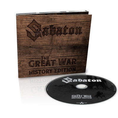 Sabaton: The Great War (History Edition): Limited Digipack CD with Signed Insert