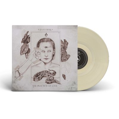 Jenny Hval: The Practise of Love: Limited Edition Sand Coloured Vinyl With Signed Postcard