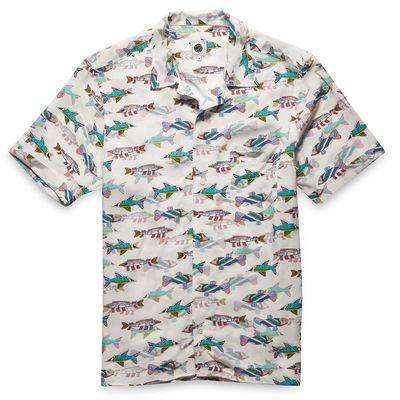 The Beatles: Fish Print Shirt