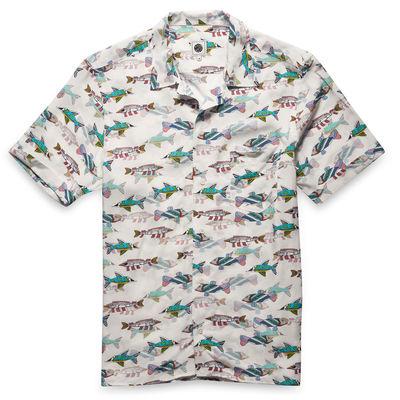 The Beatles: Yellow Submarine Fish Print Shirt