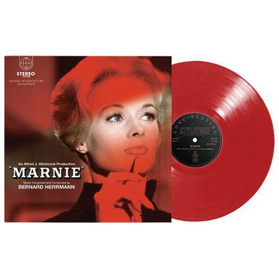 Bernard Herrmann: Marnie: Super Deluxe Edition Scarlet Vinyl