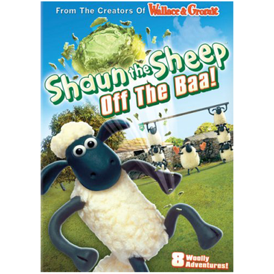 Shaun the Sheep: Off The Baa! DVD
