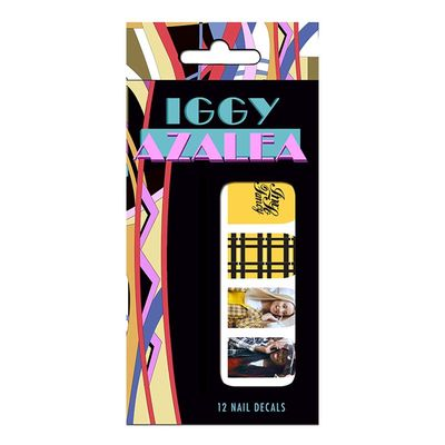 Iggy Azalea: Custom Nail Stickers