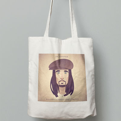 JP Cooper: Tote Bag (JP Characature)